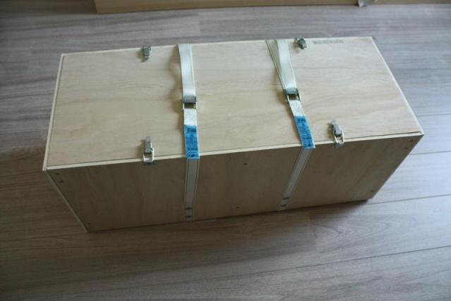 Bricolage : une caisse de transport pour VIL Dessus10