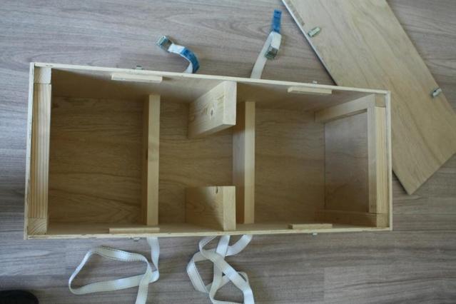 Bricolage : une caisse de transport pour VIL Interi10
