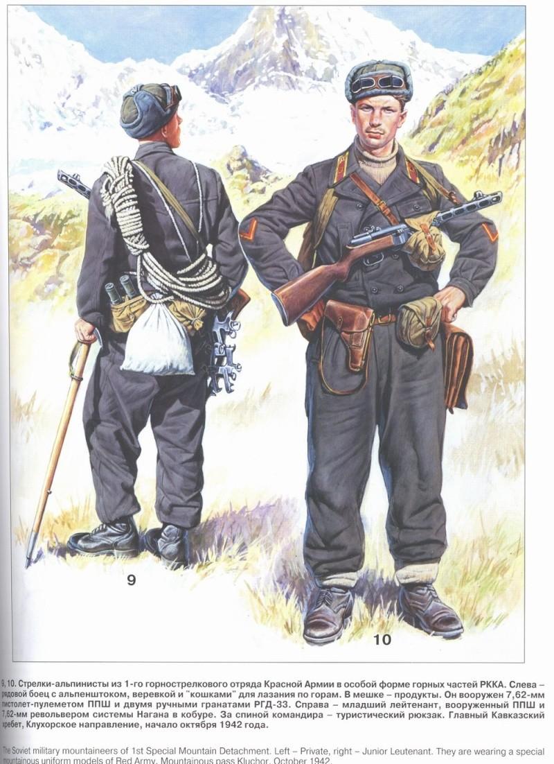 Uniformes del Ejército Rojo 1910