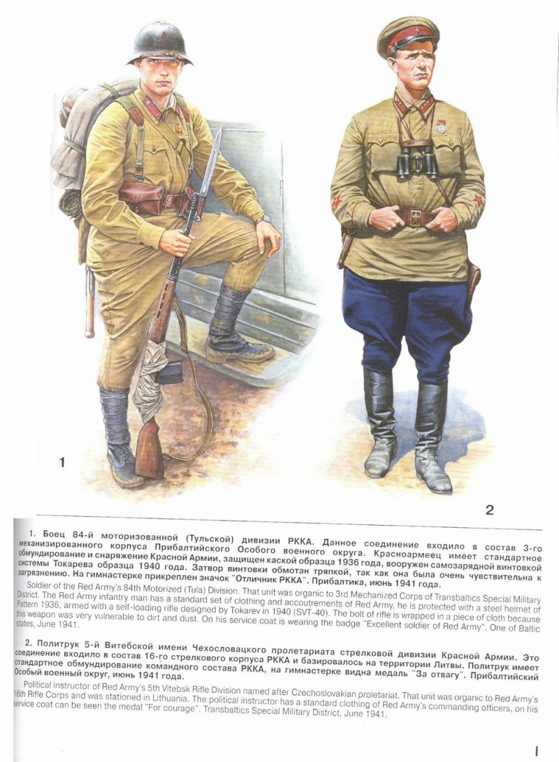 Uniformes del Ejército Rojo 610