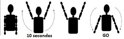 geste des arbitres et significations 10_sec10