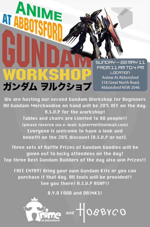 Gundam Woskshop For Begineers! Gundam11