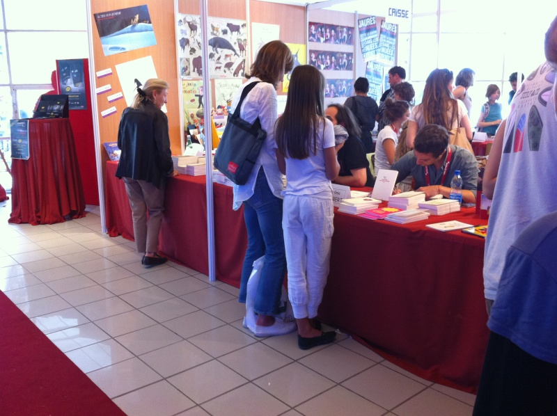 Salon du livre Gradignan  Img_0310