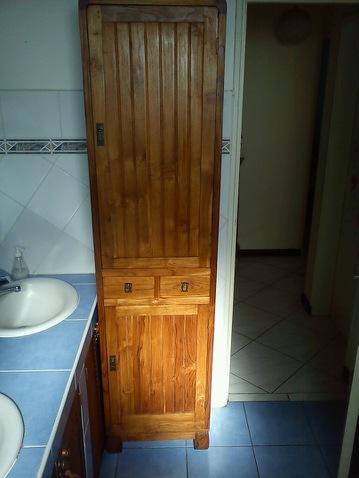 re vernir un meuble d j vernis mission abandonn e. Black Bedroom Furniture Sets. Home Design Ideas