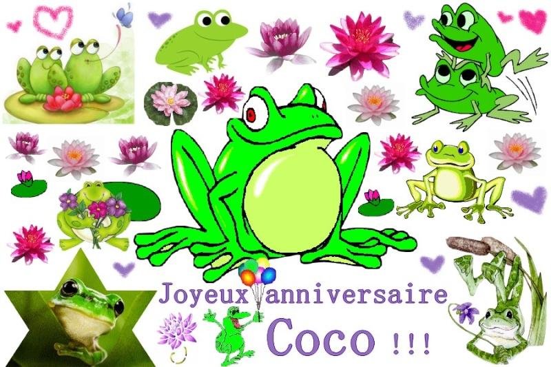 Joyeux Anniversaire Coco