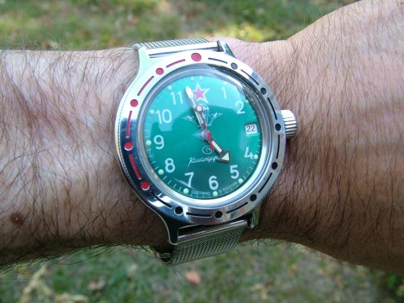 Ma Vostok Amphibian tout acier 00510
