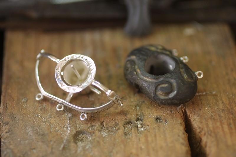 Bracelet perles de Tahiti  Brcfer17