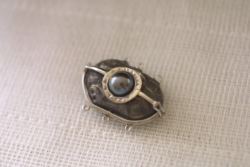 Bracelet perles de Tahiti  Brcfer18