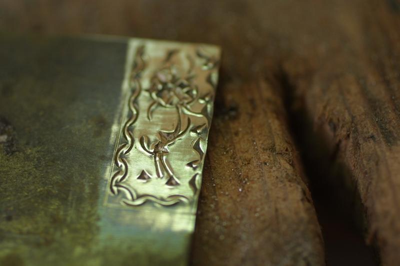 Noircir le laiton ou cuivre Patine12