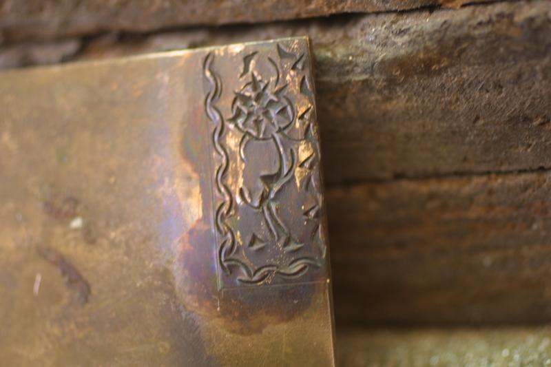 Noircir le laiton ou cuivre Patine14