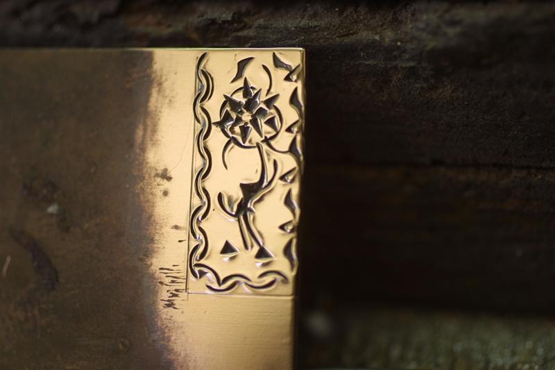 Noircir le laiton ou cuivre Patine15
