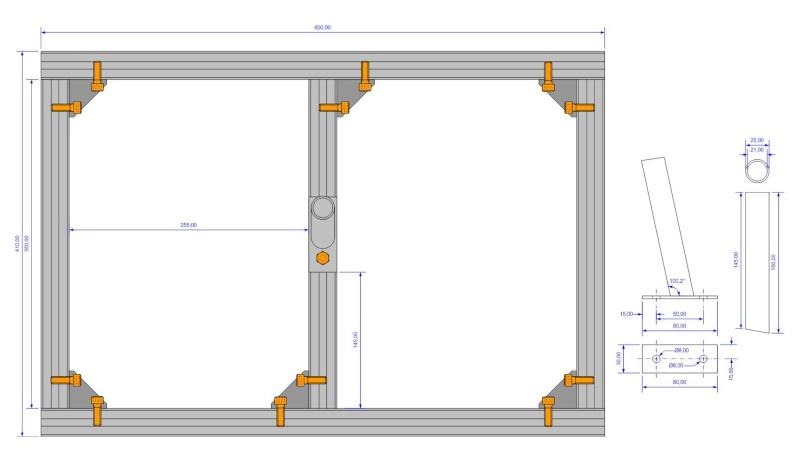 Fabrication d'une scierie portative Cadre_10
