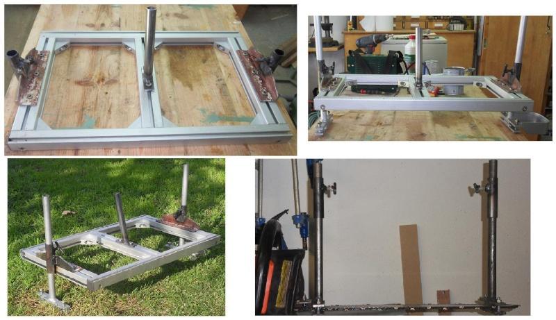 Fabrication d'une scierie portative Scieri10