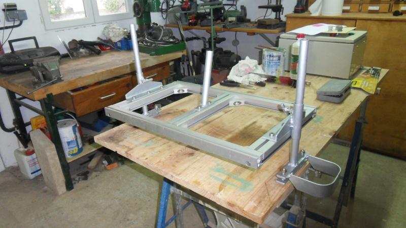 Fabrication d'une scierie portative Sdc13511