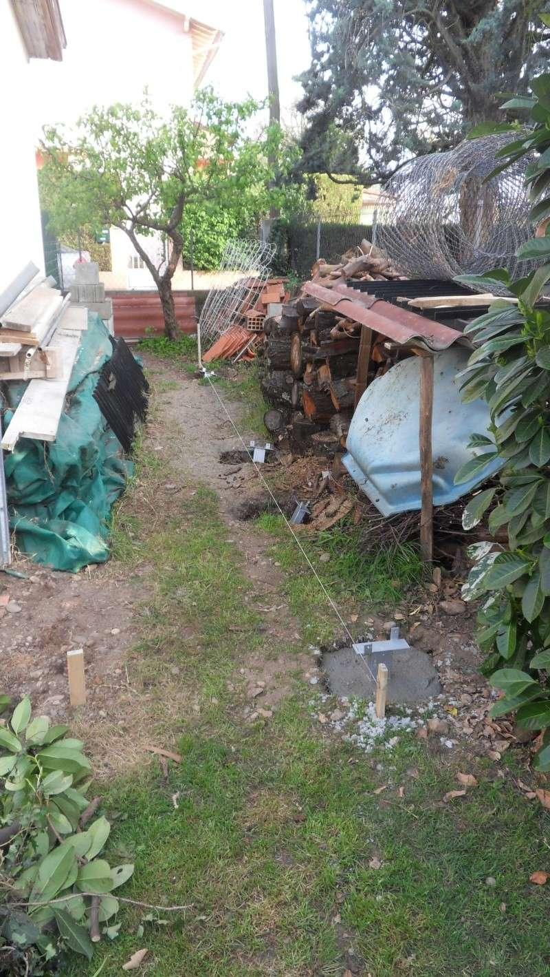 Fabrication d'un abris bois Sdc13712