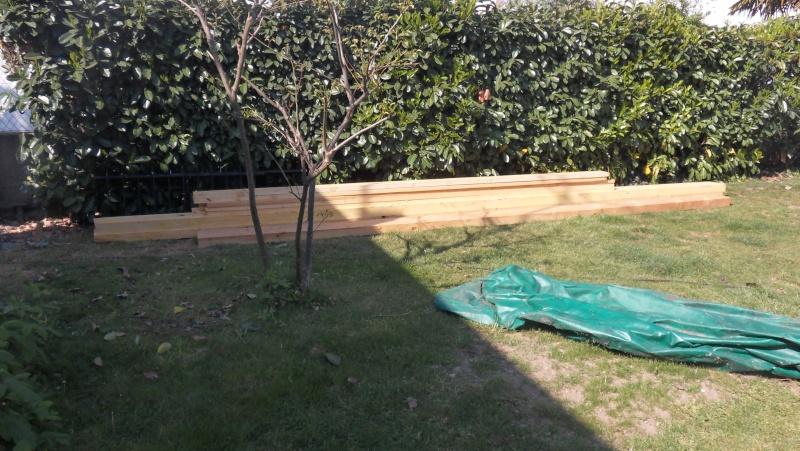 Fabrication d'un abris bois Sdc13714