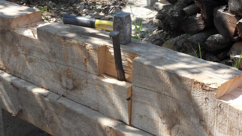 Fabrication d'un abris bois Sdc13715