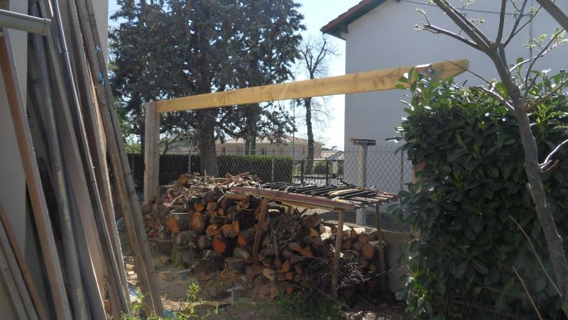 Fabrication d'un abris bois Sdc13716