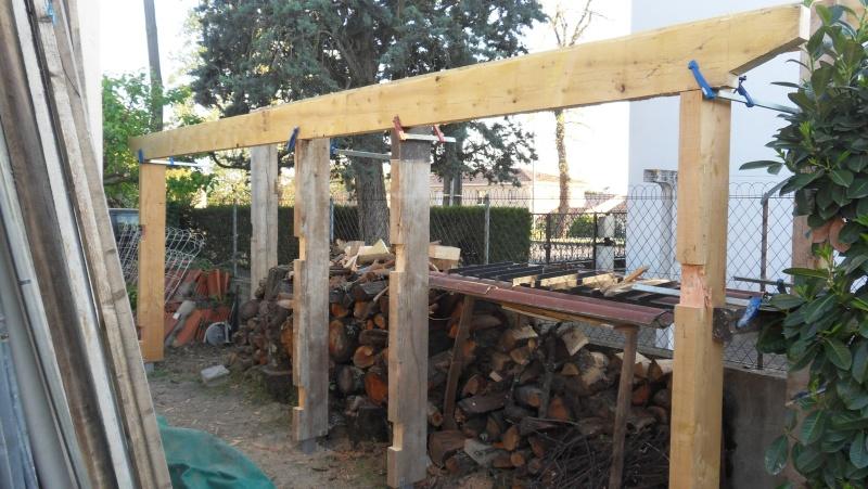 Fabrication d'un abris bois Sdc13717