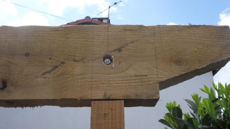 Fabrication d'un abris bois Sdc13718
