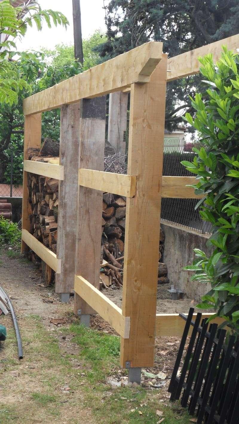 Fabrication d'un abris bois Sdc13719