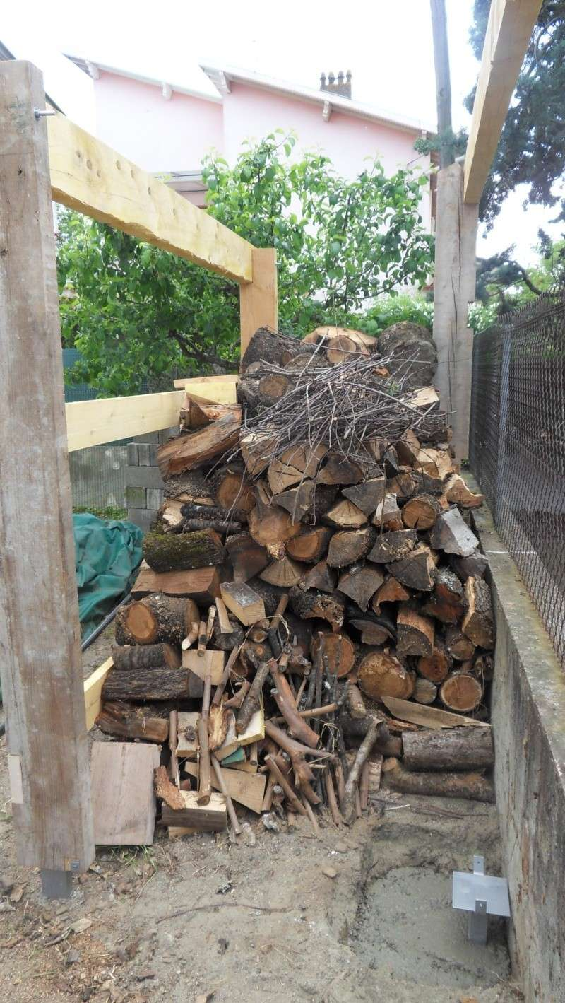 Fabrication d'un abris bois Sdc13720