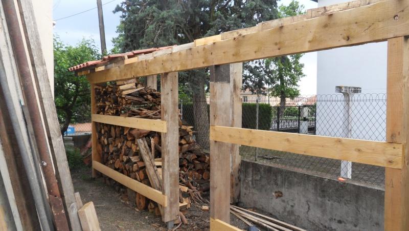 Fabrication d'un abris bois Sdc13722