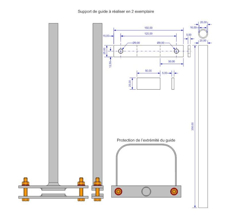 Fabrication d'une scierie portative Suppor12