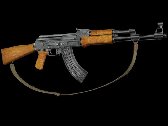 AK47 avec bandouillère 11041810