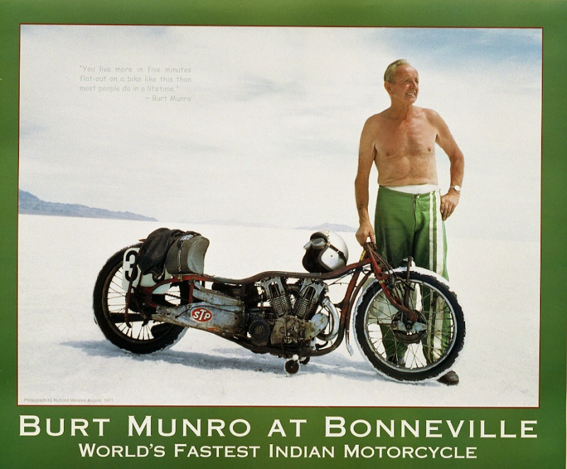 Burt Munro (The World's Fastest Indian) Poster10