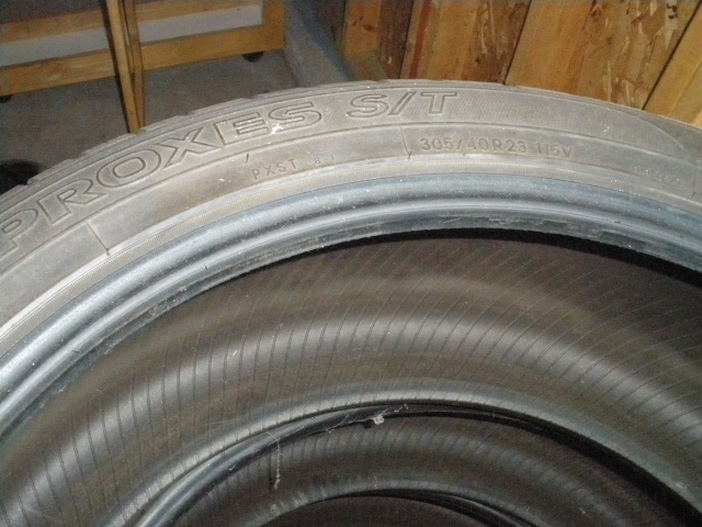 (4) Toyo Tires PROXES S/T II 305/40R23 115V - $400 Tires210