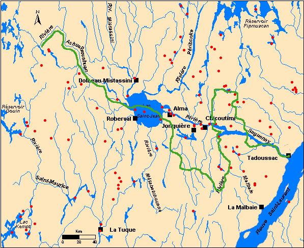 Visiter le Québec avec Clamato Carte410