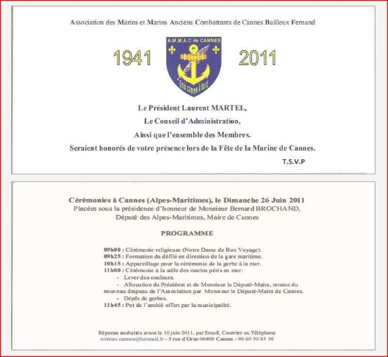 [ Associations anciens Marins ] AMMAC Cannes , Alpes-Maritimes Ammac_10
