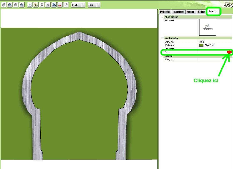 """Créer facilement un """"Wall Mask"""" pour porte ou fenêtre originale 2_outi10"""