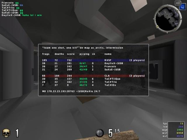 ~(USB vs TaC# [5 - 0 Win] 20100913
