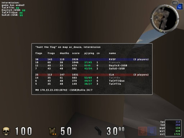 ~(USB vs TaC# [5 - 0 Win] 20100914