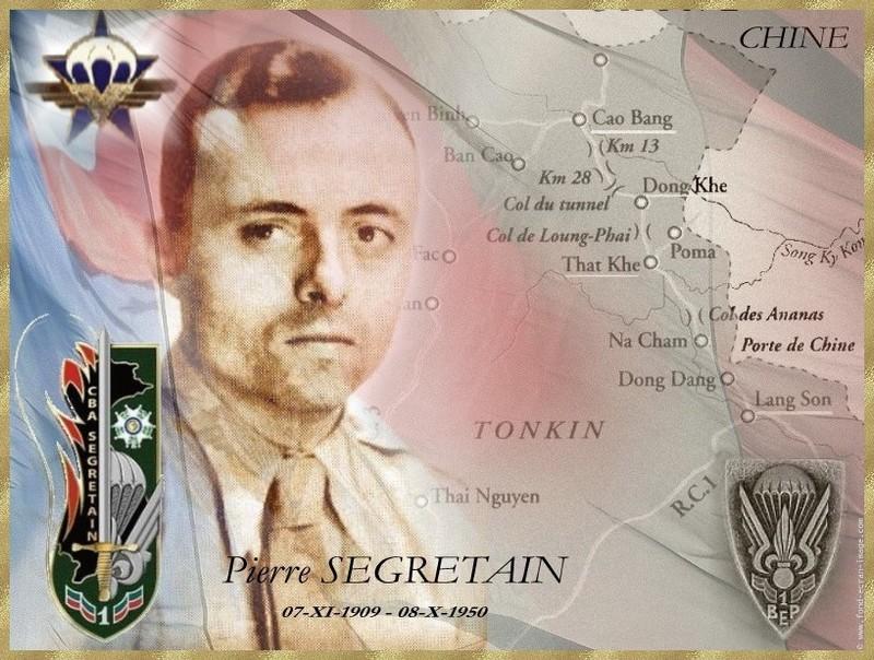 SEGRETAIN Pierre - Chef de bataillon - 1er RCP - 1er BEP tombé le 8 octobre 1950 Cdt_se10