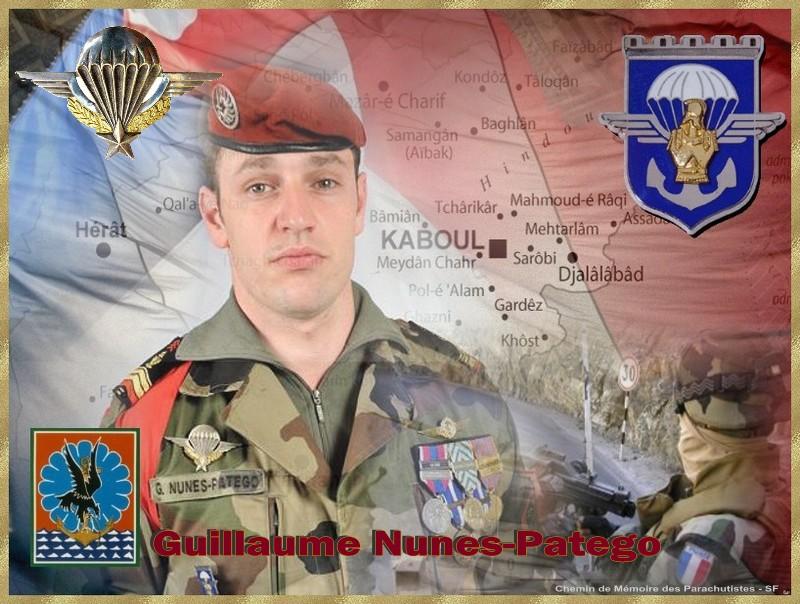 NUNES-PATEGO Guillaume 17e RGP -  59e soldat français mort au Champ d'Honneur en Afghanistan: caporal-chef Guillaume NUNES-PATEGO du 17e Régiment de Génie Parachutiste Guilla10