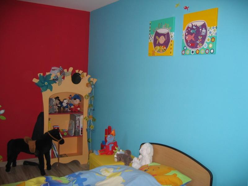 """La chambre """"arc en ciel"""" de mon fils Img_0410"""