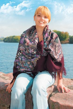 Варианты повязывания и ношения павловопосадских платков. Как носить платки. Как завязать платок. Dd_ddd10