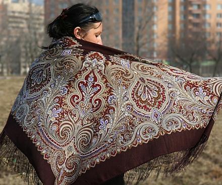 Варианты повязывания и ношения павловопосадских платков. Как носить платки. Как завязать платок. Dd_ddd11