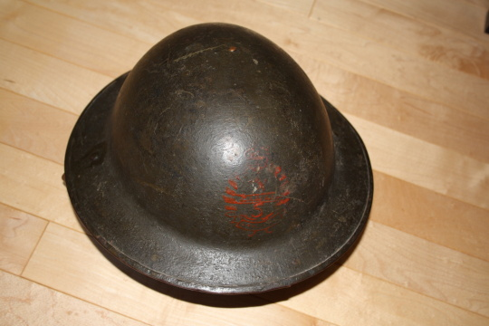 5th Battalion Helmet - Auction Find 5th00710