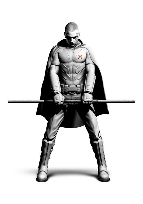 Batman: Arkham City - Robin! Batman12