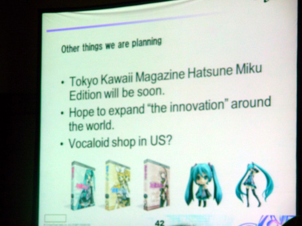 Hatsune Miku might get English voicebank and go to US Englis11