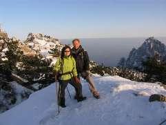 La Chine sac au dos (14): Ascension du Huangshan 黄山 sous la neige les 9 et 10 février 2008 10_wen10