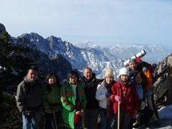 La Chine sac au dos (14): Ascension du Huangshan 黄山 sous la neige les 9 et 10 février 2008 11_a_h10