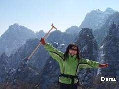 La Chine sac au dos (14): Ascension du Huangshan 黄山 sous la neige les 9 et 10 février 2008 3_une_10