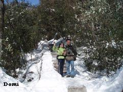 La Chine sac au dos (14): Ascension du Huangshan 黄山 sous la neige les 9 et 10 février 2008 4_le_m10