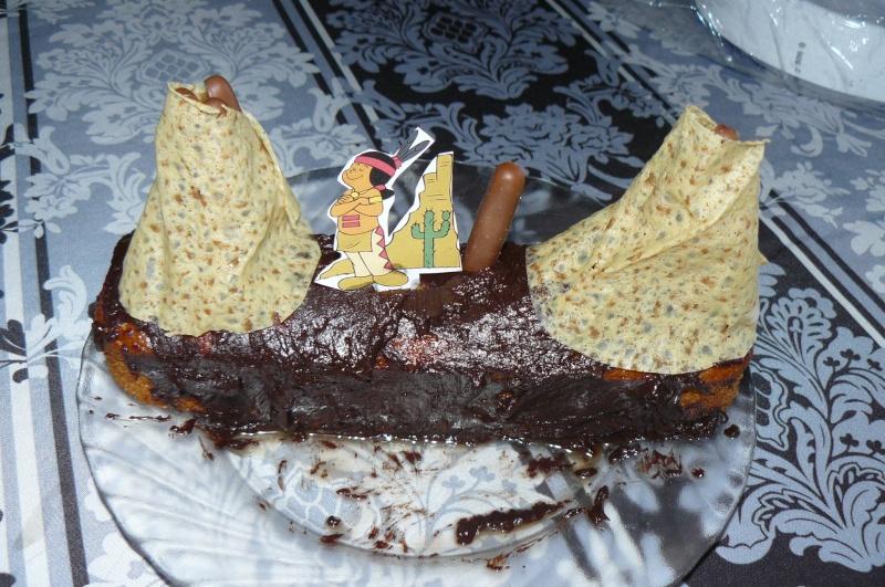 """Gâteau """"Indien d'Amérique"""" P1200510"""
