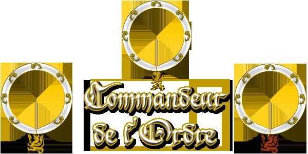 Armorial de l'Ordre de Sainct George Comman10
